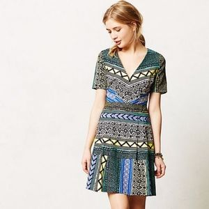 Anthropologie Tracy Reese New Moon Dress Sz 8